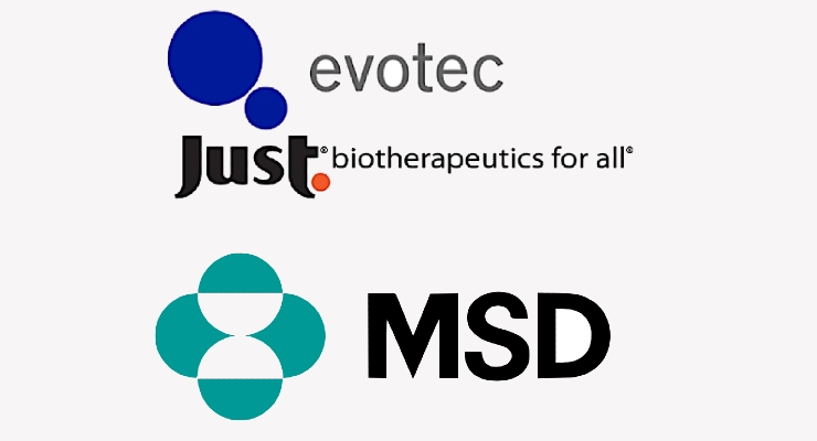 Just - Evotec Expands MSD Collaboration