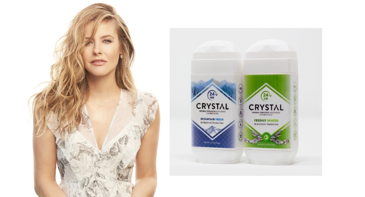 Crystal Taps New Brand Ambassador