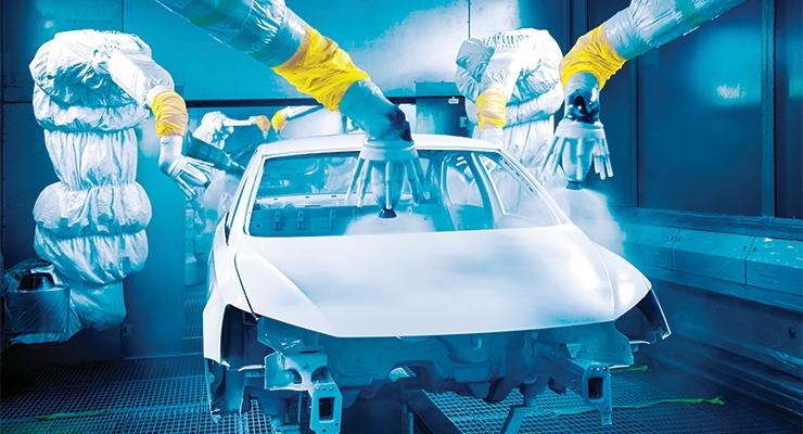 Europe's OEM Automotive Coatings  Market Expands