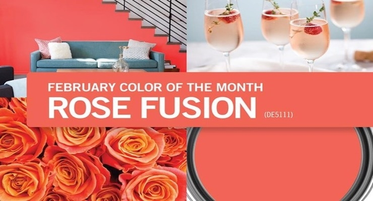 Dunn-Edwards Announces February Color of the Month