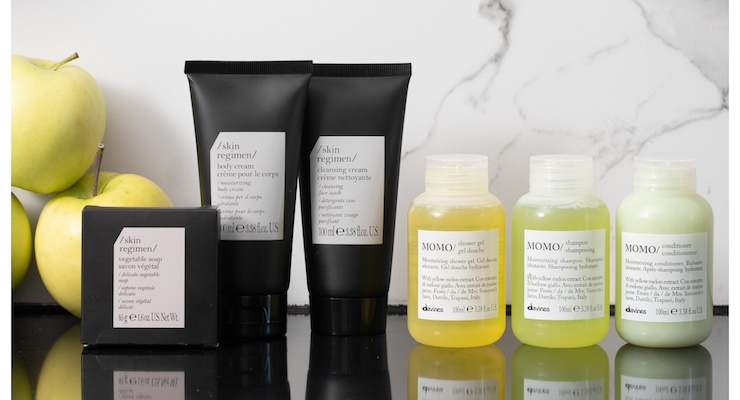 Davines & Skin Regimen Debut Amenity Line at W Hotels