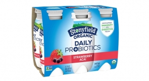 Stonyfield Organic Launches Daily Probiotic Yogurt Drink
