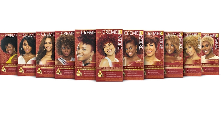 Creme of Nature Re-Launches Hair Color Line