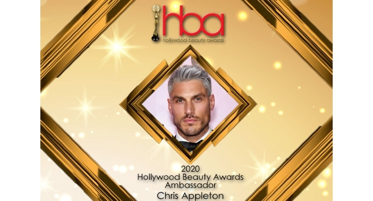 Appleton Is Ambassador of Hollywood Beauty Awards