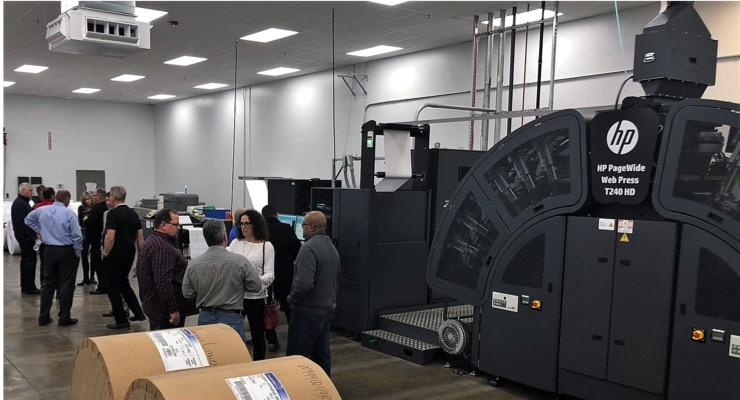 American Litho Hosts HP Sales Squad