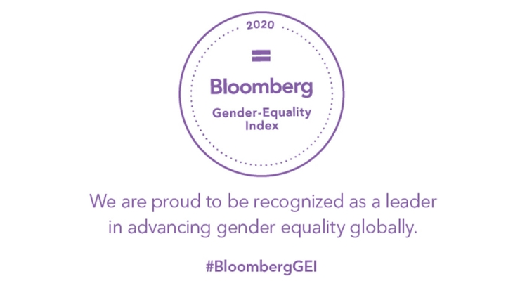 Gender-Equality Index Recognizes Estee Lauder