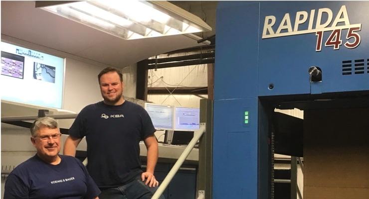 NEPA Carton & Carrier Adds 2nd Koenig & Bauer Rapida Press