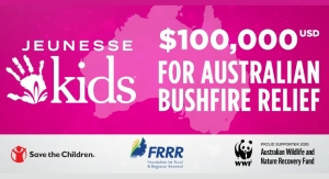 Jeunesse Donates Thousands for Australian Bushfire Aid and Recovery