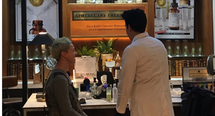 Kiehl's Adds Facial Services