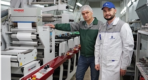 Mark Andy press installed in Russia