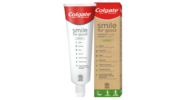 Colgate Launches First-of-its-Kind Recyclable Tube