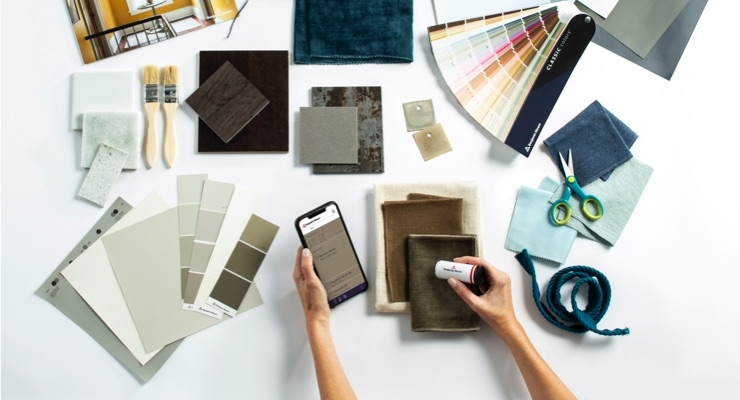 Benjamin Moore Launches Color Portfolio App with Integrated ColorReader Device