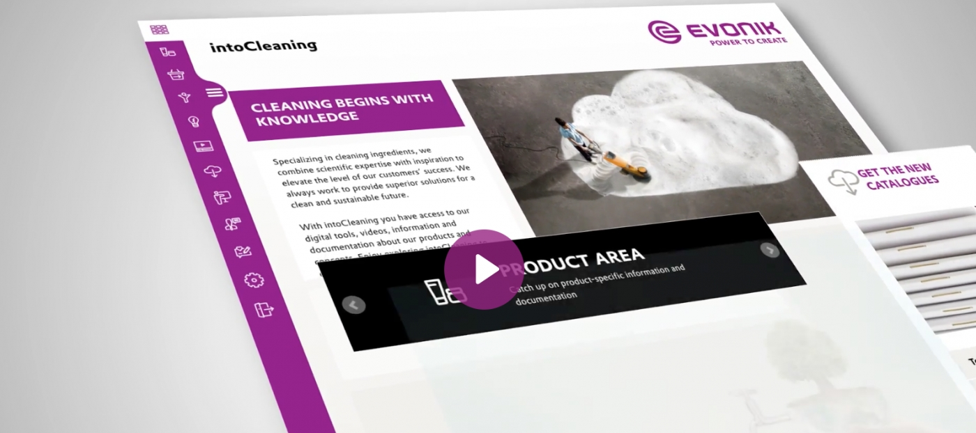 Evonik Launches intoCleaning