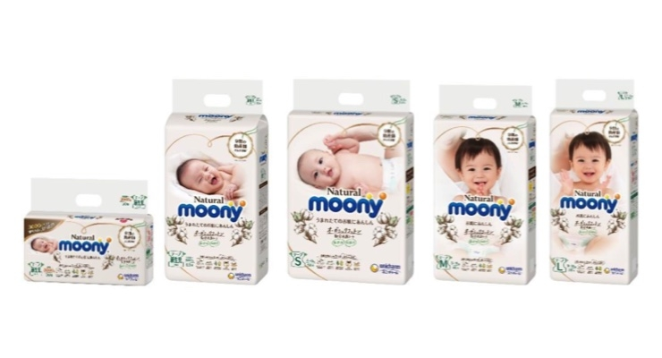 Unicharm Natural Moony Diapers Earn Safety Certification