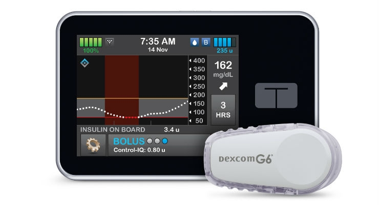 FDA Clears t:slim X2 Insulin Pump With  Advanced Hybrid Closed-Loop Technology