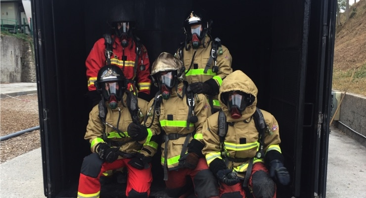 Protective Clothing with Built-In Sensors Warns Firefighters of Too Much Heat