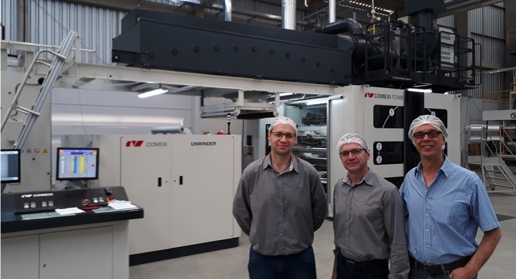Pamplastic Acquires a Comexi F2 MB Flexographic Press