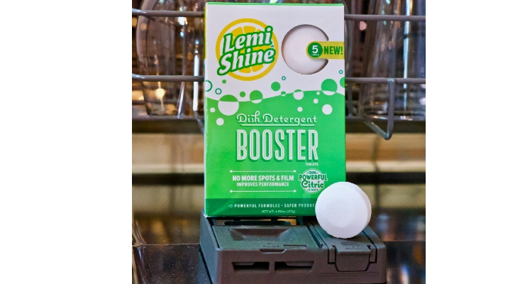 Lemi Shine Adds Dish Detergent Booster Tablets