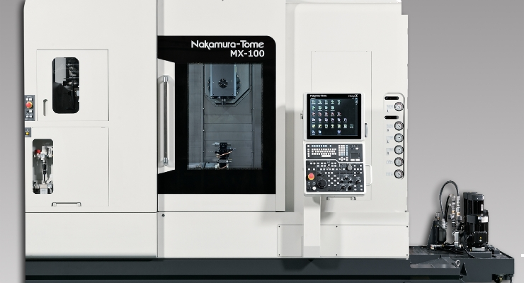 New Compact, Multitasking Machining Center Makes its Debut