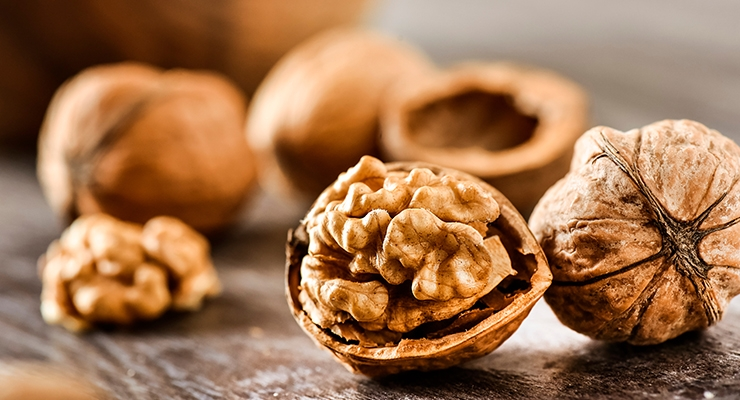 Walnuts May Help Slow Cognitive Decline in At-Risk Elderly