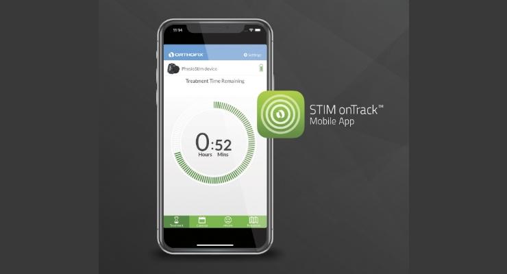 Orthofix STIM onTrack 2.1 Mobile App Approved by FDA