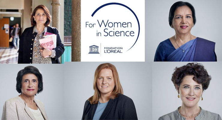 L'Oréal Names 22nd International For Women in Science Award Winners