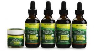 Sunsoil Full Spectrum CBD Oils Certified Organic