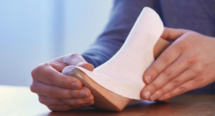 Freudenberg Develops Nonwoven Crimping Material for Footwear Market