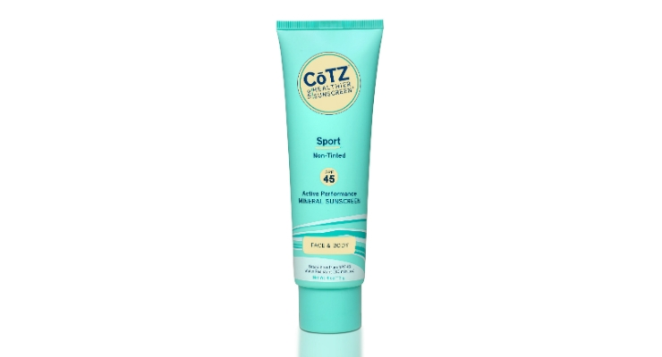 CōTZ Launches Sport SPF 45