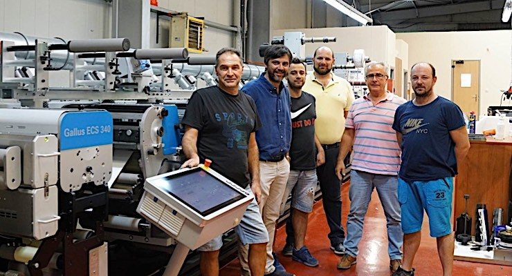 Greek converter invests in first Gallus label press