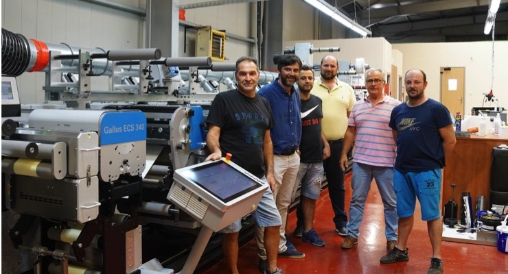 Batsios Labels Invests in Gallus Label Press