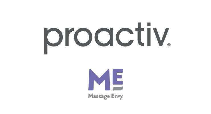 Massage Envy Stocks Proactiv