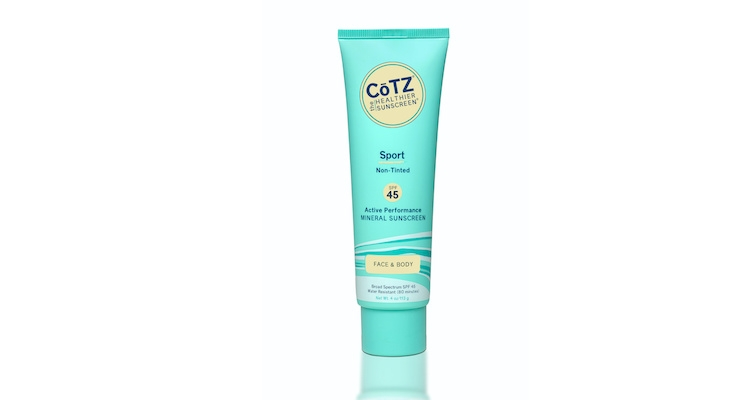 CōTZ Launches Sport SPF 45 Sunscreen