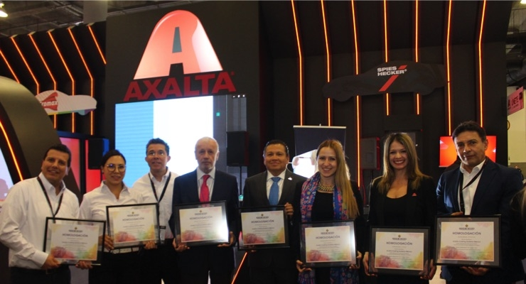 Axalta Showcases Waterborne Technologies for Automotive Refinish Industry at Expo CESVI