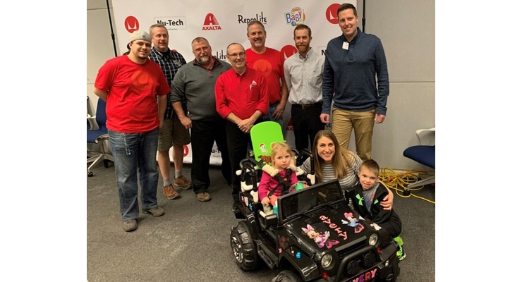 Axalta Customizes Cars for Children with Cognitive or Physical Challenges