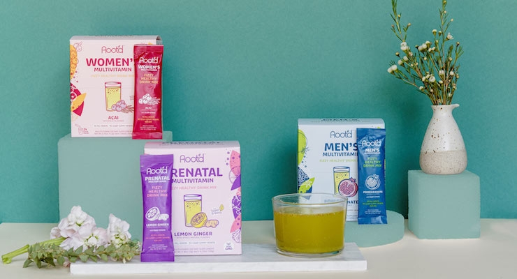 Root'd Debuts with Line of Multivitamin Drink Mixes