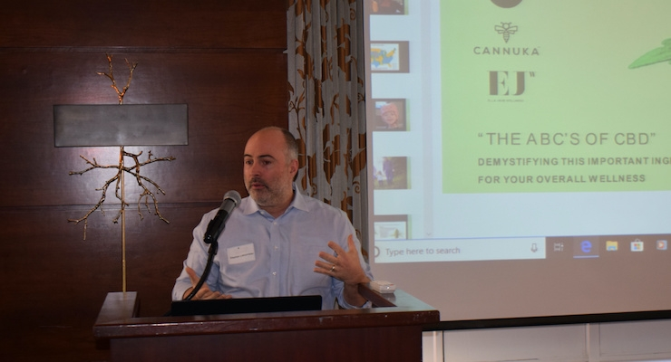 CIBS Luncheon Speaker Discusses Cannabis and Luxury Wellness