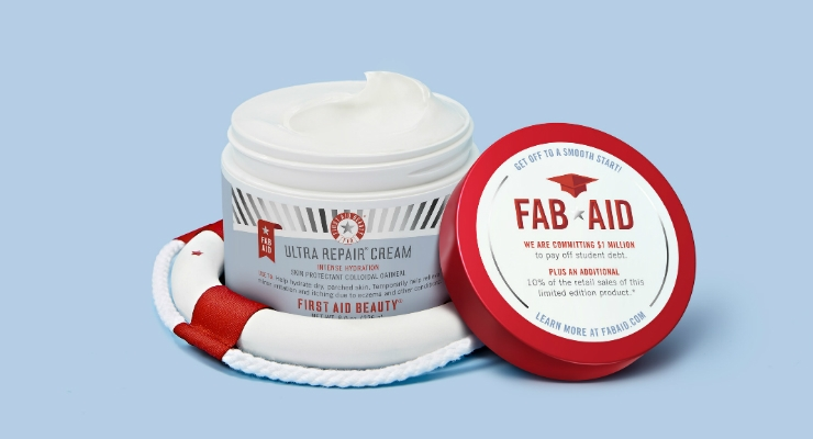 First Aid Beauty Launches Student Debt Relief Initiative