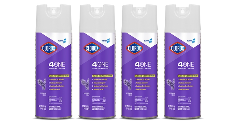CloroxPro Expands Aerosol Disinfectants