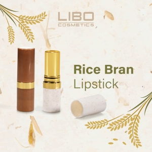 Eco-Innovation: Libo Introduces Rice Bran Lipstick
