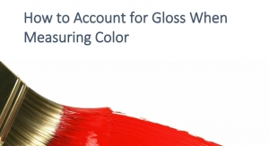 Are You Accounting for Gloss When Measuring Color?