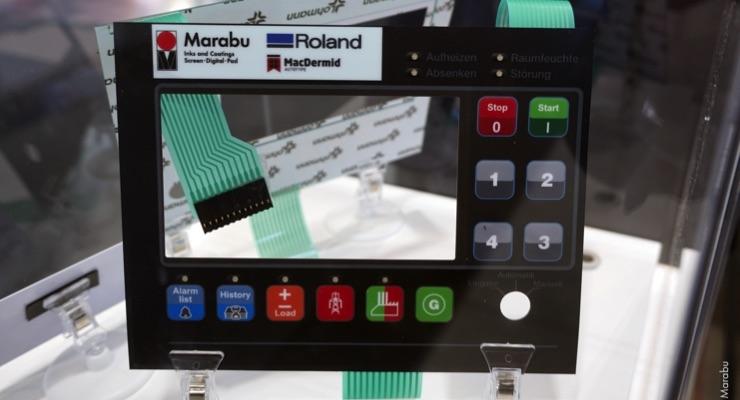 Marabu, Roland DG Deliver Digital Flatbed Solution