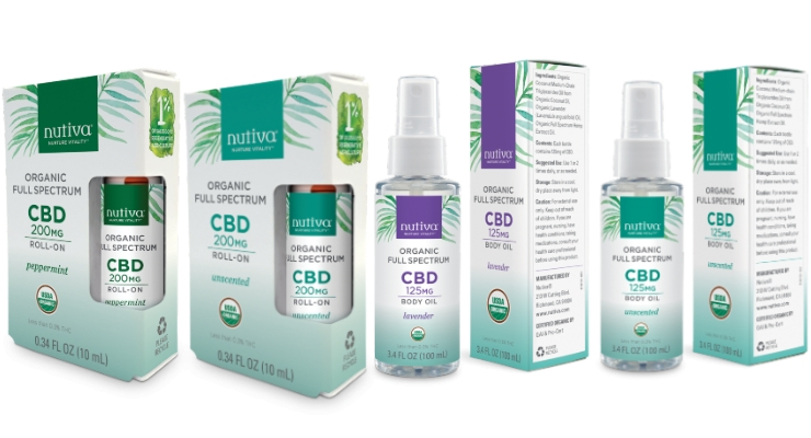 Nutiva Debuts Full Spectrum CBD Tinctures and Body Care Line