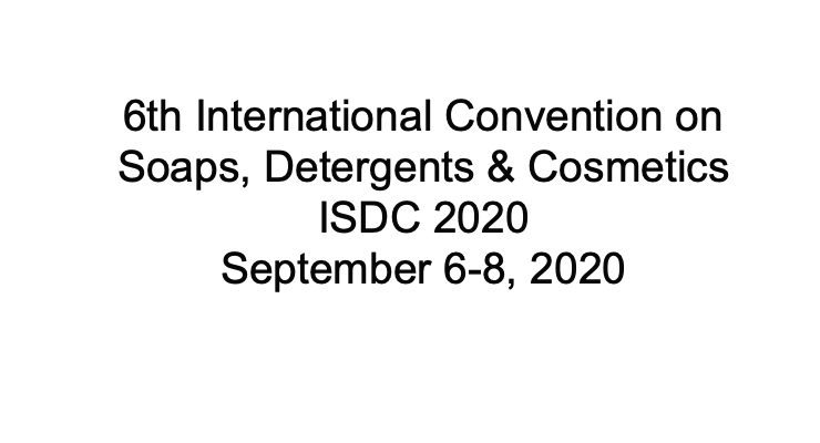 New Dates for ISDC 2020