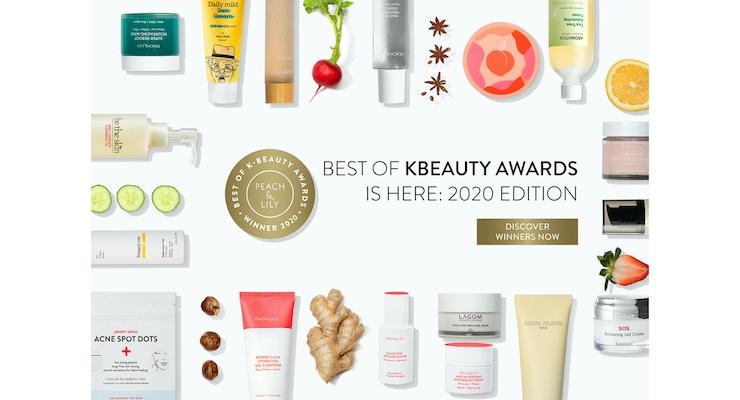 Peach & Lily Names Best of K-Beauty Award Winners