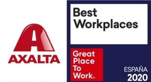 Axalta Spain Ranks in Top 30 of Best Workplaces 2020
