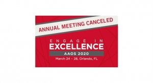 AAOS Cancels 2020 Annual Meeting Over Coronavirus Concerns