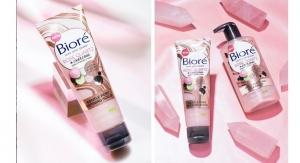 Biore Promotes Rose Quartz & Charcoal Collection
