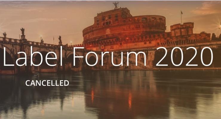 FINAT European Label Forum canceled