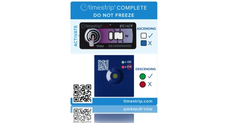 Timestrip Sees Demand Increase for Temperature, Time Indicators